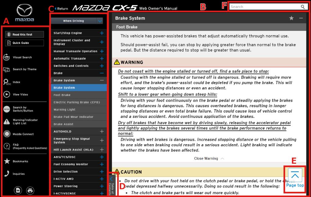 mazda cx 5 owners manual pdf