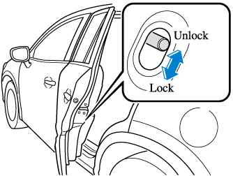 mazda cx 9 owner s manual I Beam Wood if you slide the child safety lock to the lock position before closing that door the door cannot be opened from the inside the door can only be opened by
