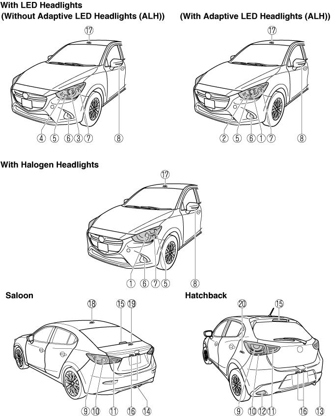 Gsi Saloon Car Parking Lamp Switch Circuit Diagram Fog Light Switch